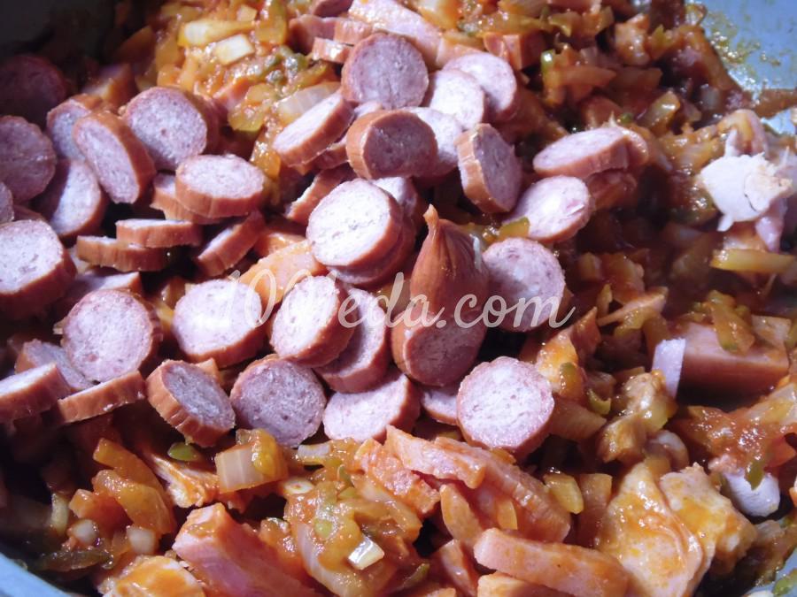 Суп солянка с рисом: пошаговый с фото - Шаг №3