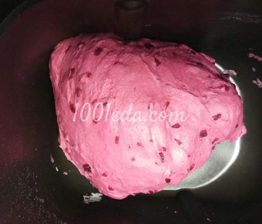 Свекольный хлеб в хлебопечке: пошаговое фото - Шаг №14