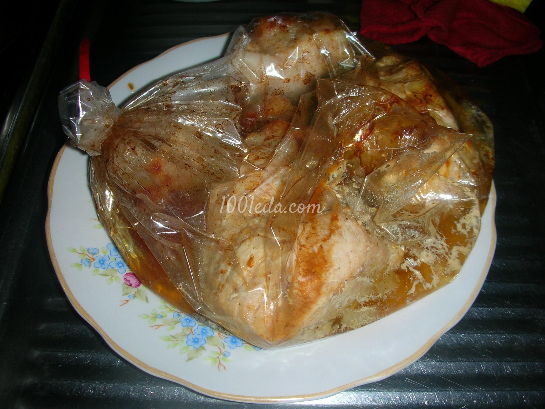 Баранина в пакете для запекания в духовке рецепт с пошагово
