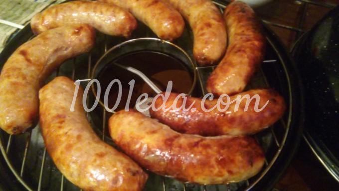 Свиные колбаски гриль: пошаговое фото - Шаг №5