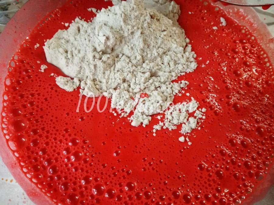 Торт Красный бархат: рецепт с пошаговым фото - Шаг №3