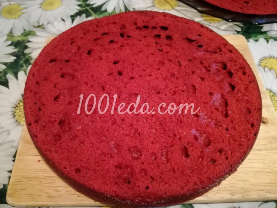 Торт Красный бархат: рецепт с пошаговым фото - Шаг №4