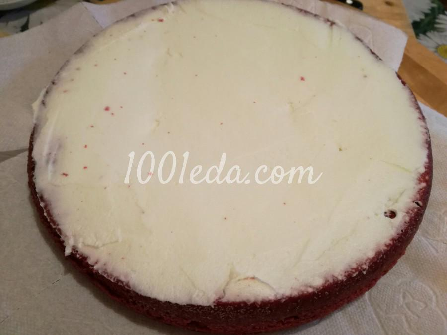 Торт Красный бархат: рецепт с пошаговым фото - Шаг №5