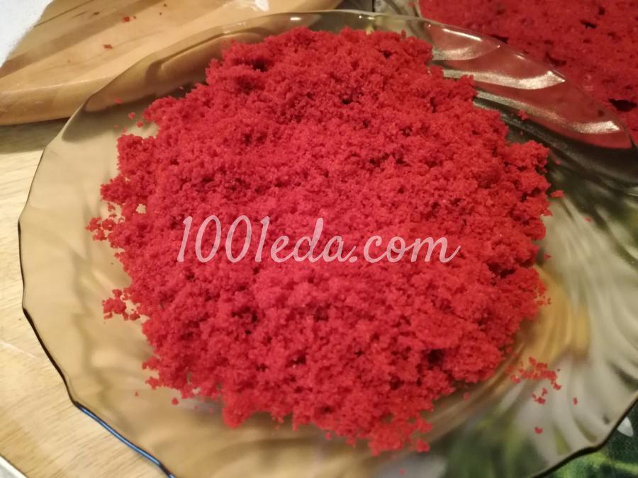 Торт Красный бархат: рецепт с пошаговым фото - Шаг №6