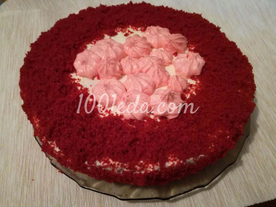Торт Красный бархат: рецепт с пошаговым фото - Шаг №7