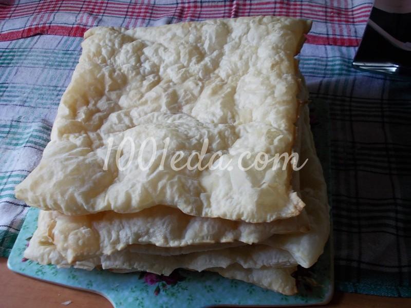 Рецепт торта из готового слоеного теста с фото