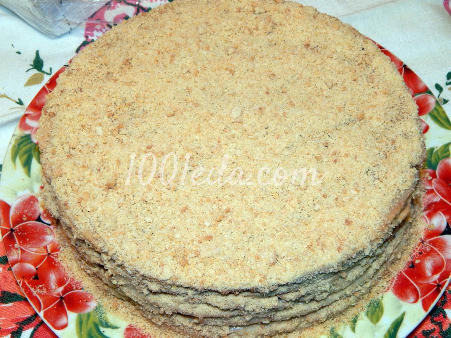 Торт пьяная вишня со сметанным кремом пошаговый рецепт