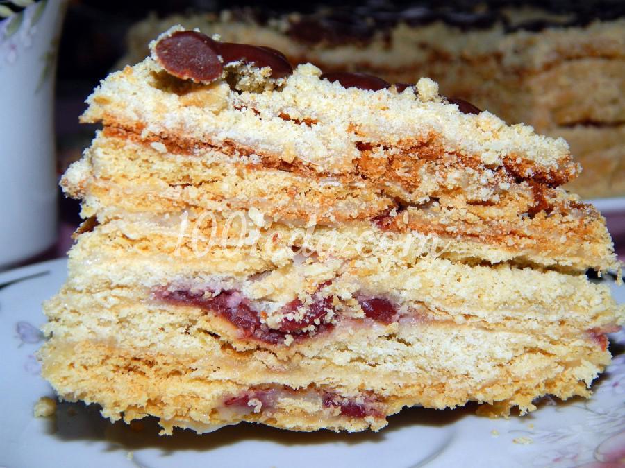 торт пьяная вишня рецепт с пошаговым фото видео