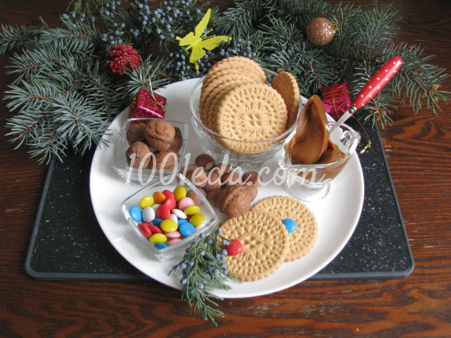Торт из печенья с орехами: пошаговый с фото - Шаг №1