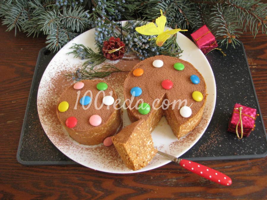 Торт из печенья с орехами: пошаговый с фото - Шаг 11