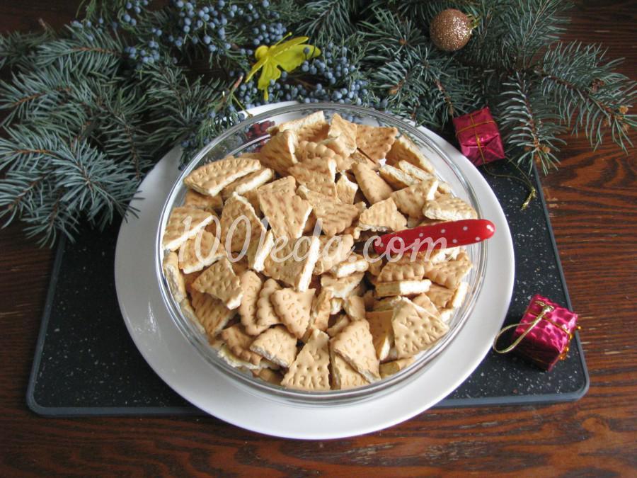 Торт из печенья с орехами: пошаговый с фото - Шаг №2