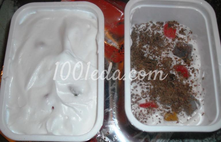 Торт-мороженое с мармеладом: пошаговое фото - Шаг №10