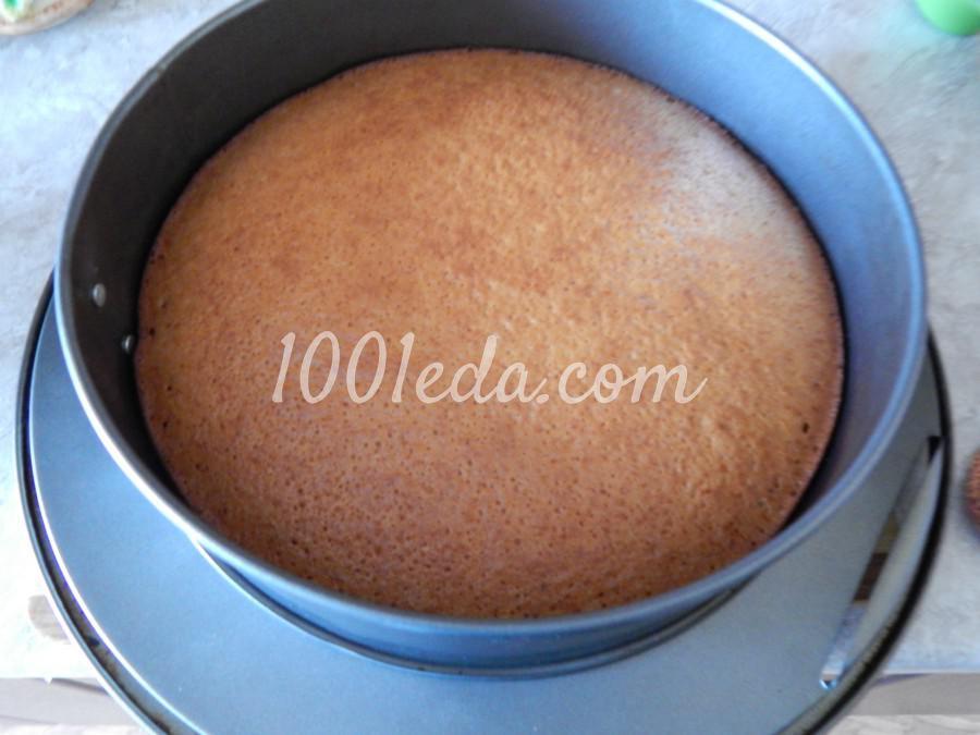 Торт на кефире с вареньем: пошаговое фото - Шаг №6