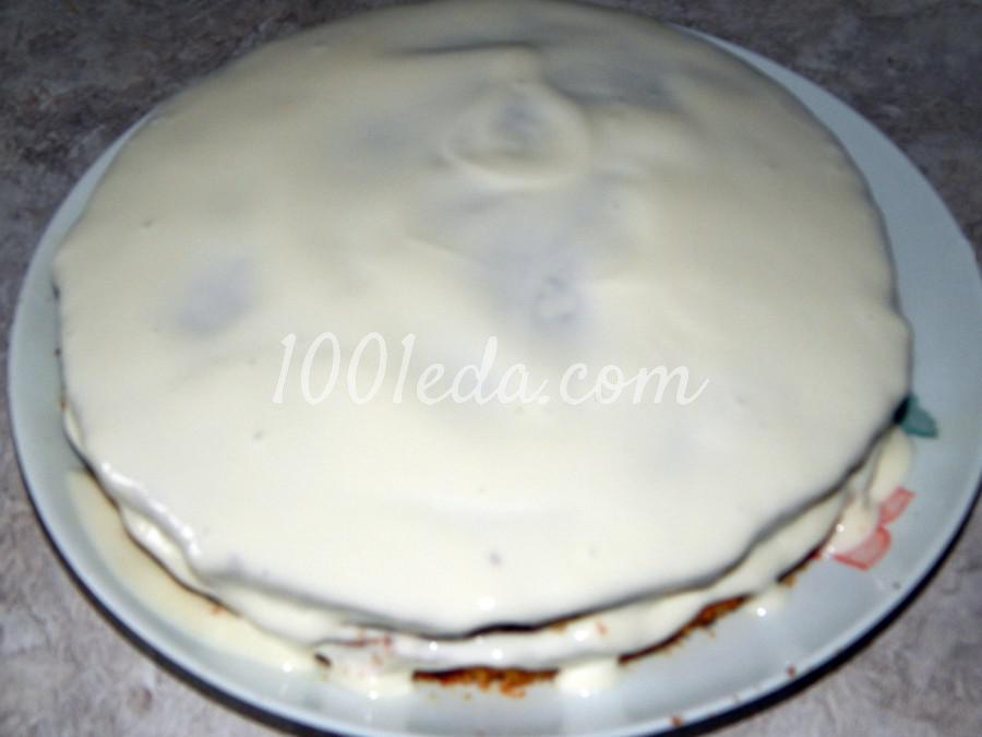 Торт на кефире с вареньем: пошаговое фото - Шаг №8