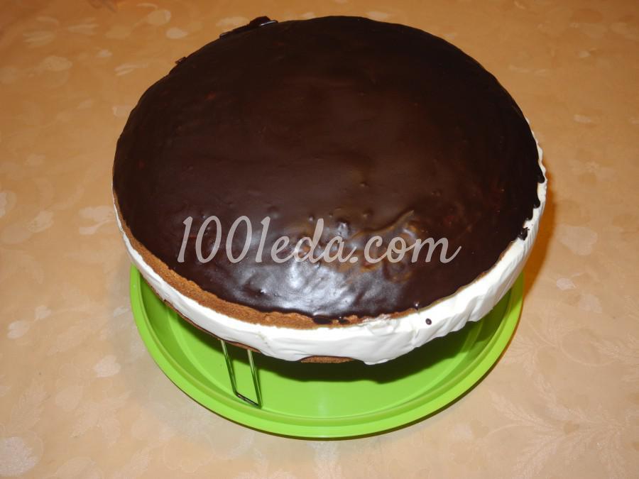 Торт с ананасово-творожным кремом: пошаговый с фото - Шаг №10