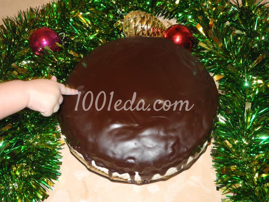 Торт с ананасово-творожным кремом: пошаговый с фото - Шаг №11
