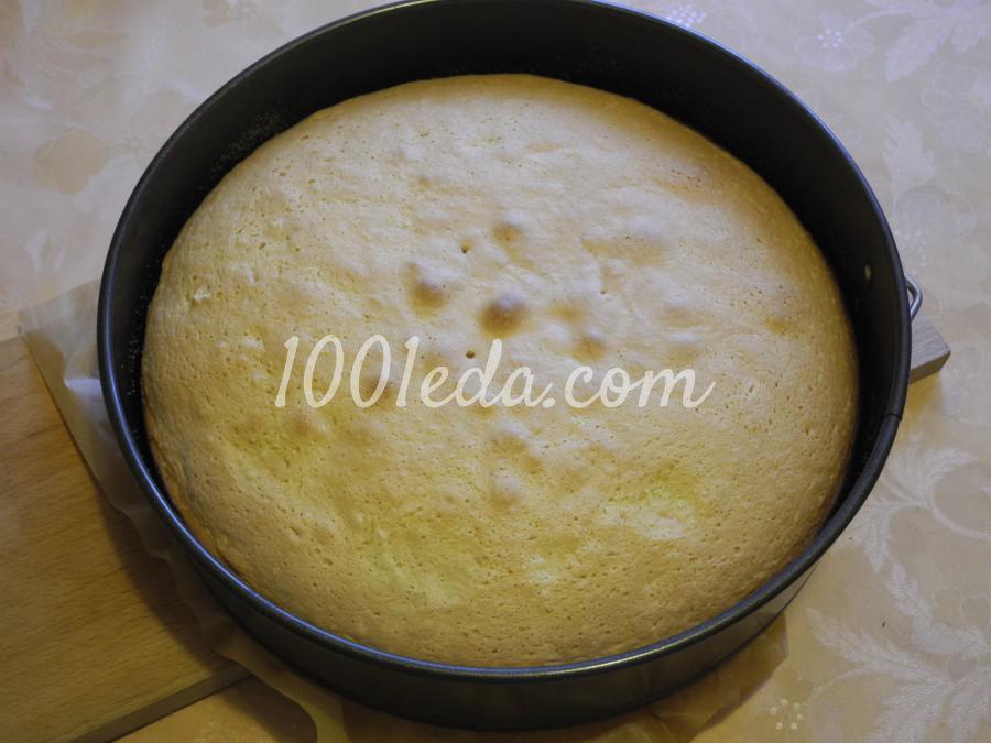 Торт с ананасово-творожным кремом: пошаговый с фото - Шаг №4