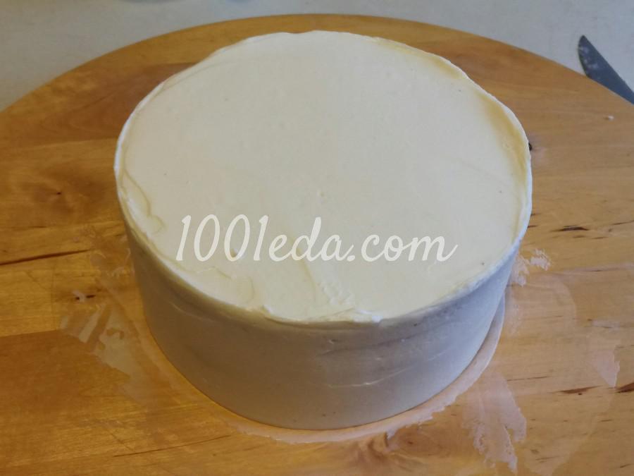 Торт с крем-чиз: пошаговый с фото - Шаг №7
