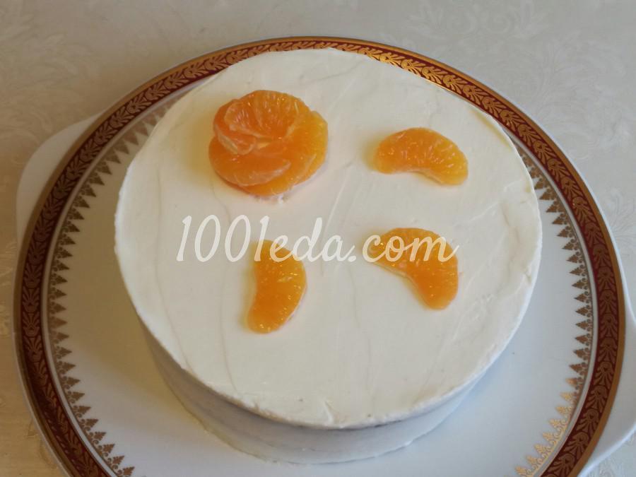 Торт с крем-чиз: пошаговый с фото - Шаг №9