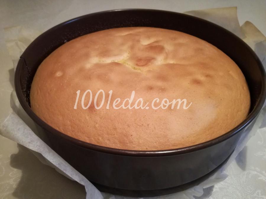 Торт с шоколадно-зеркальной глазурью: пошаговый с фото - Шаг №3