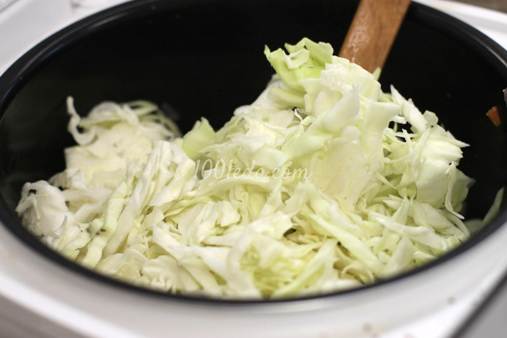Рис фарш капуста рецепт с пошагово в кастрюле