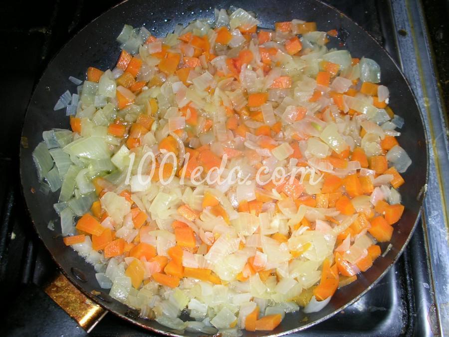 Как потушить капусту с овощами в сковороде пошаговый рецепт с