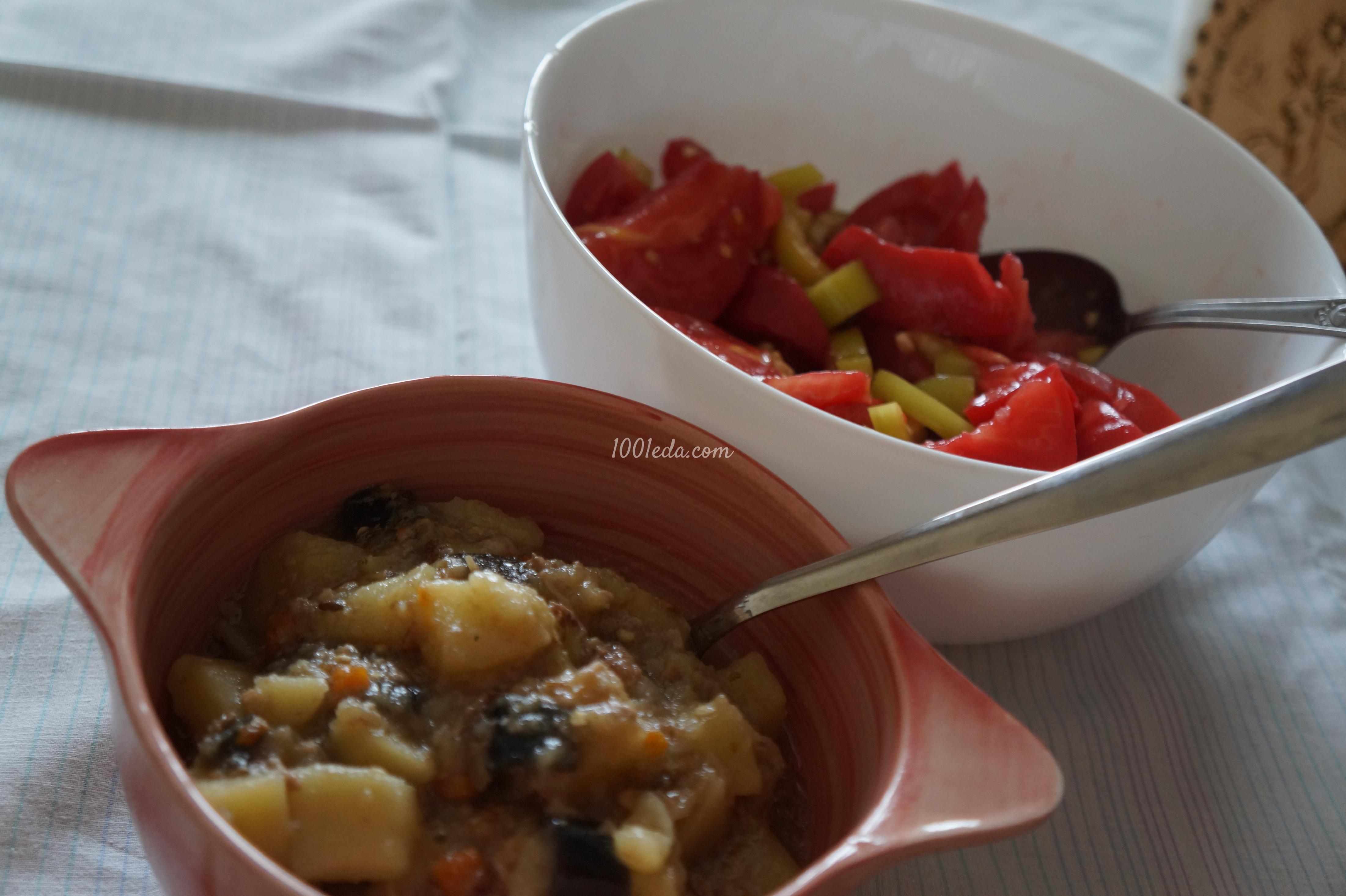 Картошка с баклажанами в мультиварке рецепты