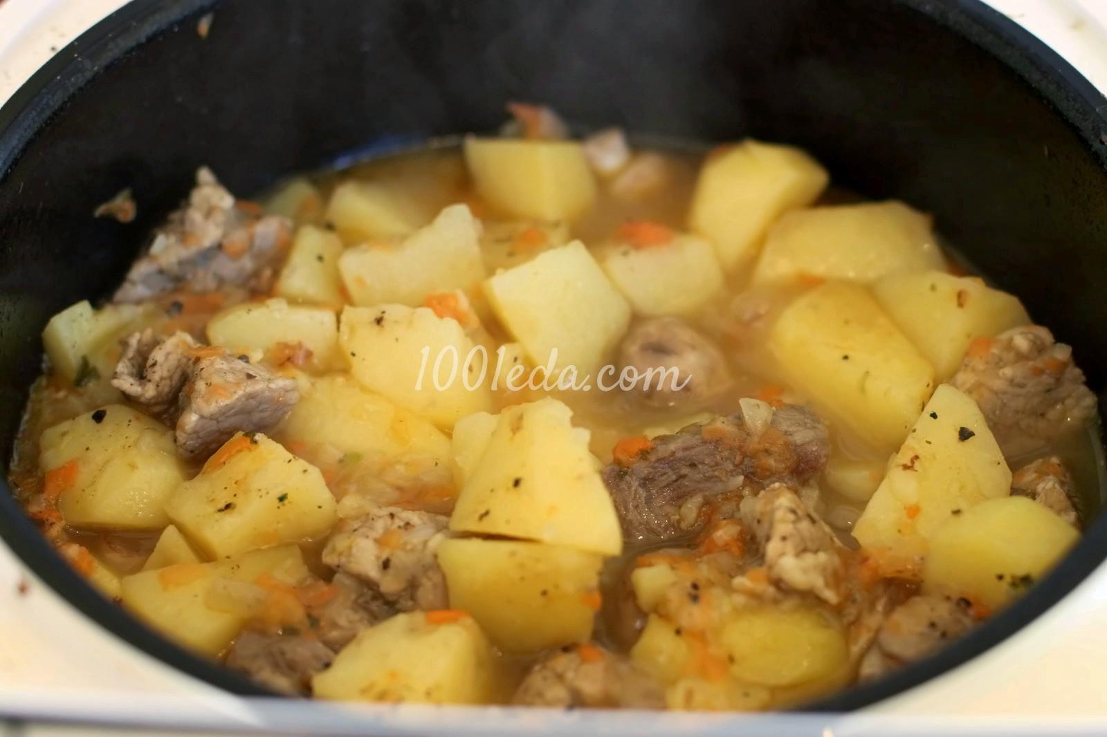 Окорок свиной в мультиварке с картошкой рецепт