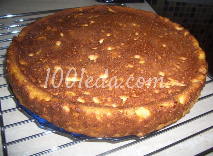 Творожный пирог на кефире рецепт с фото