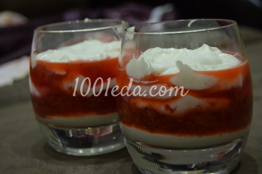 Творожно-клубничный десерт - Шаг № 2