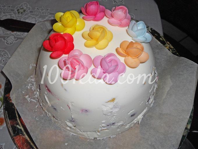 Творожный торт: рецепт с пошаговым фото - Шаг №13