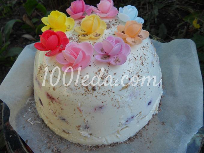 Творожный торт: рецепт с пошаговым фото - Шаг №14