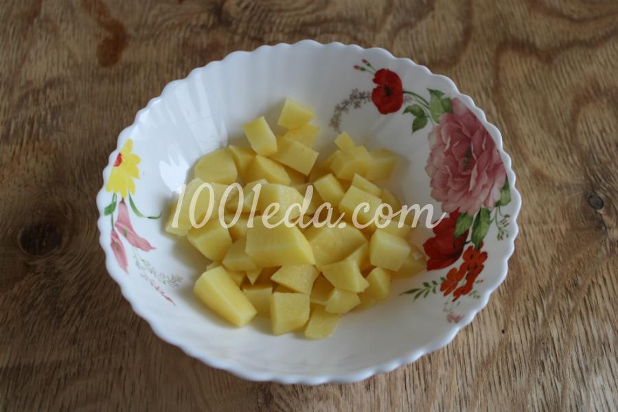 Тыква с овощами в духовке: пошаговый с фото - Шаг №3
