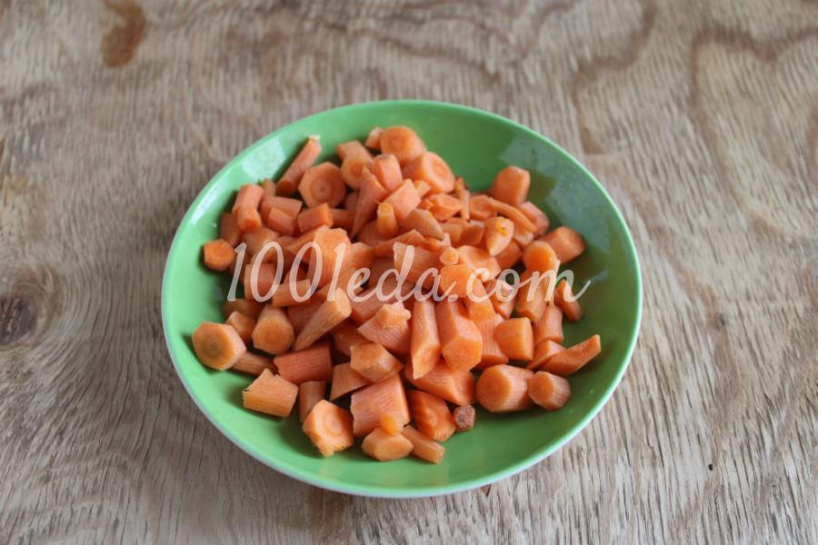 Тыква с овощами в духовке: пошаговый с фото - Шаг №4