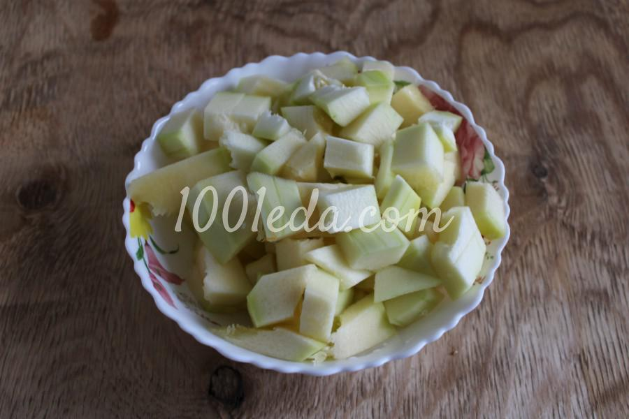 Тыква с овощами в духовке: пошаговый с фото - Шаг №6