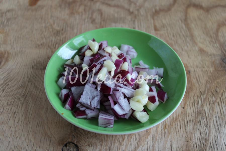 Тыква с овощами в духовке: пошаговый с фото - Шаг №8
