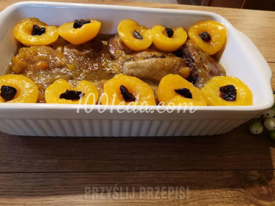 Утка в соусе из персиков: пошаговый с фото - Шаг №10