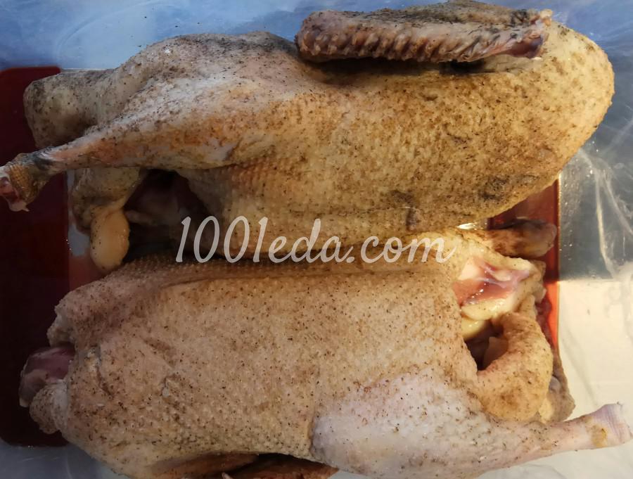 Утка запечённая в рукаве в духовке начинённая булгуром: пошаговое фото - Шаг №1