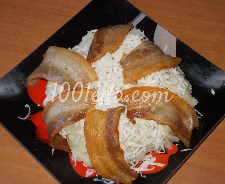 Картофельное пюре с сыром и беконом для мужа на ужин