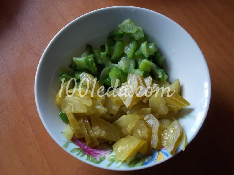 Салат огуречный В ожидании весны