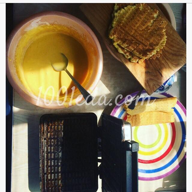 Вафли на греческом йогурте с заварным белковым кремом: пошаговый с фото - Шаг №4