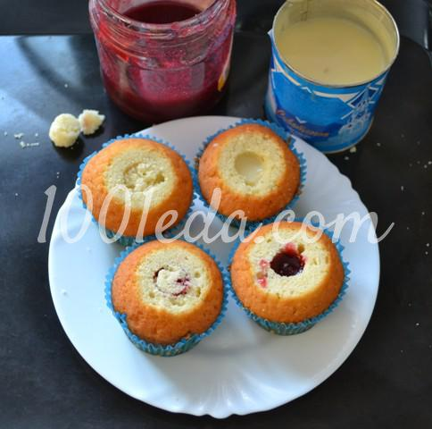 Капкейки ванильные рецепт с пошагово в