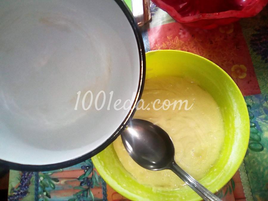 Ванильный бисквит на кипятке: пошаговый с фото - Шаг №10