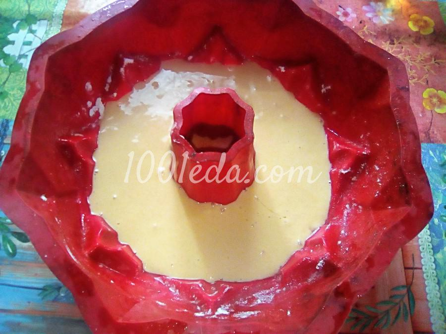 Ванильный бисквит на кипятке: пошаговый с фото - Шаг №11