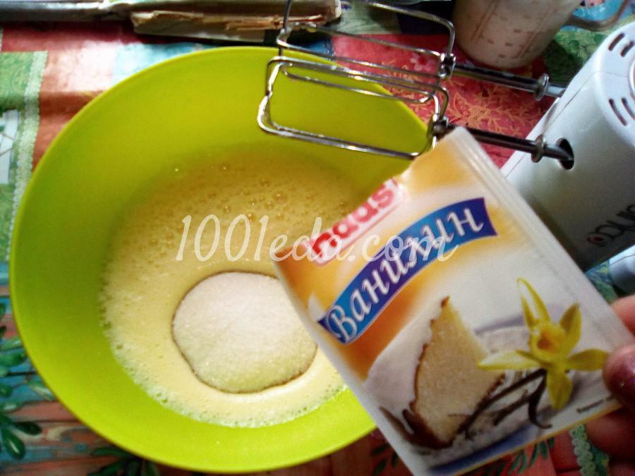 Ванильный бисквит на кипятке: пошаговый с фото - Шаг №4