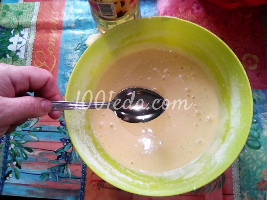 Ванильный бисквит на кипятке: пошаговый с фото - Шаг №9