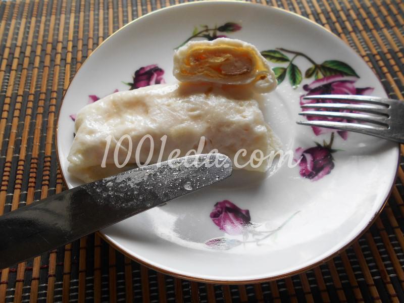 """Вариации на тему: """"Завтрак из яиц"""": пошаговое фото - Шаг №13"""