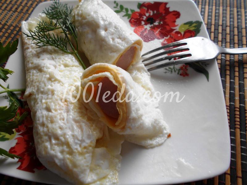 """Вариации на тему: """"Завтрак из яиц"""": пошаговое фото - Шаг №14"""