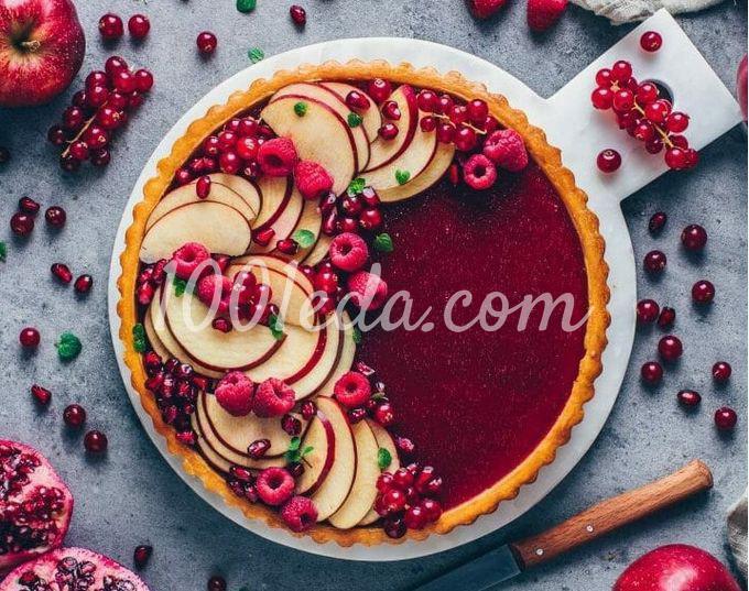 Веганский пирог панна котта с фруктово-ягодным желе: пошаговый с фото - Шаг №10
