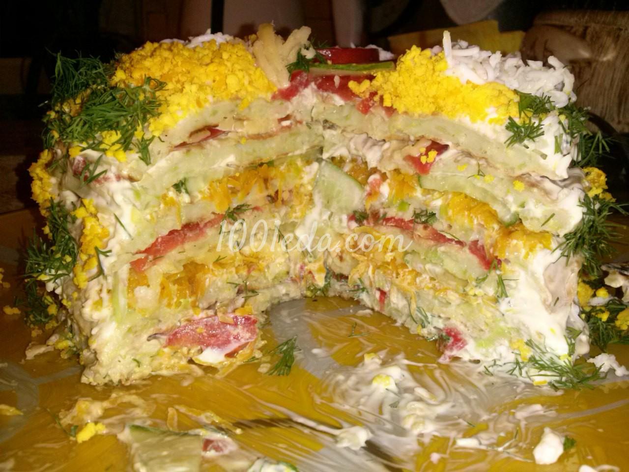 Кабачковый торт с морковью и луком рецепт с фото пошагово 39